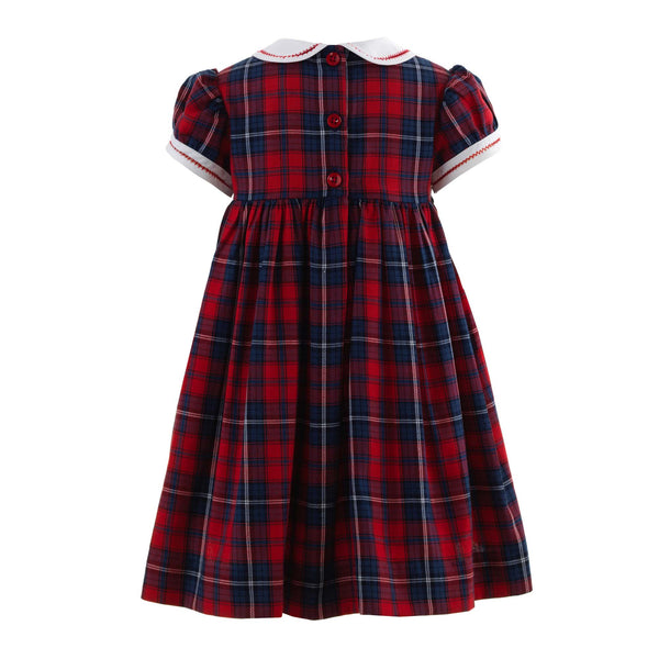 Scottie Dog Smocked Dress & Bloomers