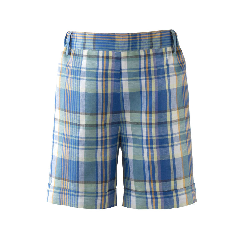 Madras Check Shorts