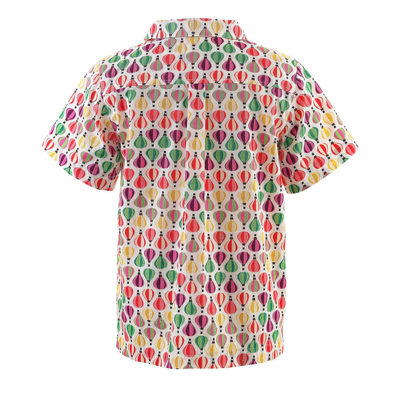 Hot Air Balloon Pocket Shirt