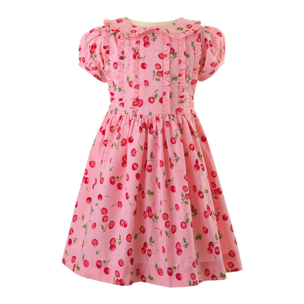 Cherry Frill Dress