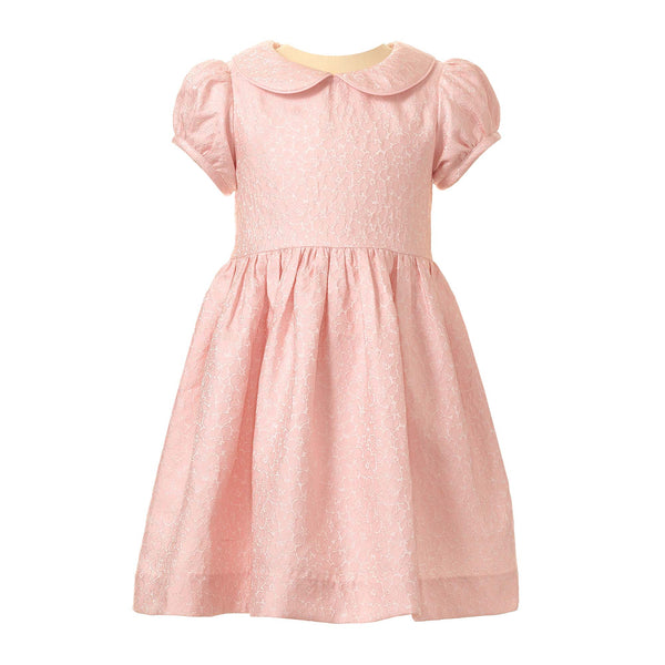 Pink Flower Damask Party Dress