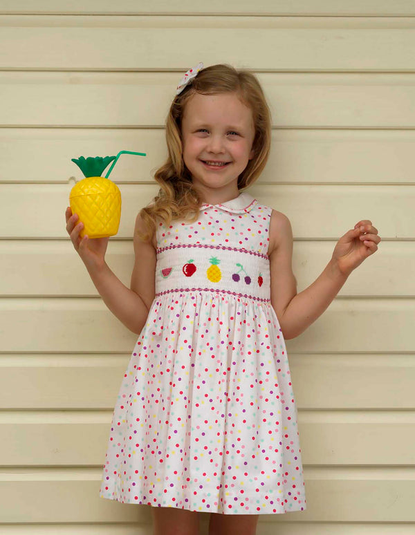 Tutti Frutti Smocked Dress