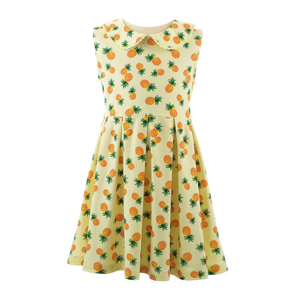 Pineapple Jersey Dress