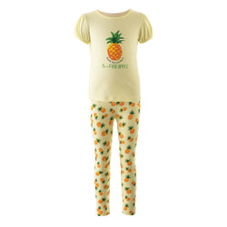Pineapple T-Shirt and Legging Set