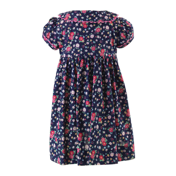 Floral Button-Front Dress & Bloomers