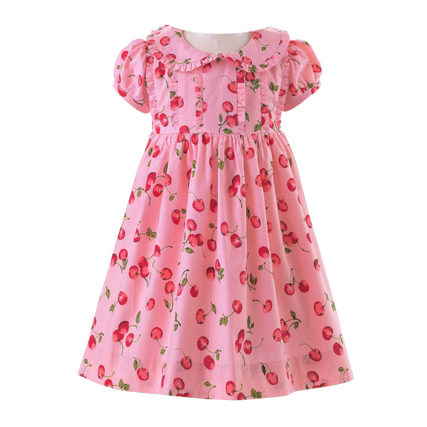 Cherry Frill Dress & Bloomers