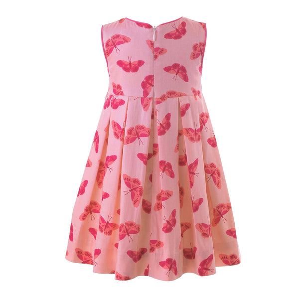 Butterfly Pleated Dress & Bloomers