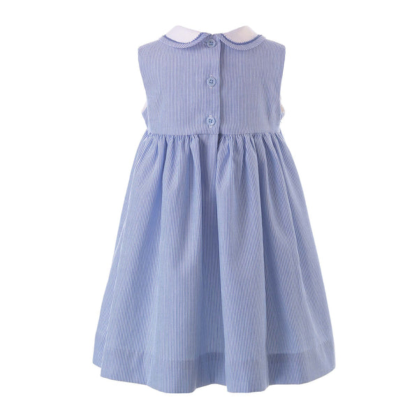 Sailboat Smocked Dress & Bloomers