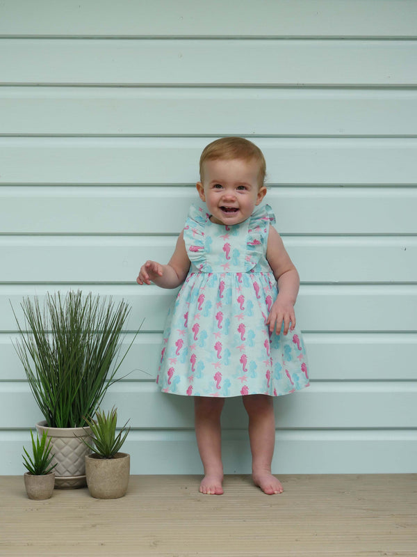 Seahorse Frill Sundress & Bloomers