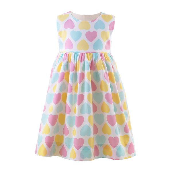 Pastel Heart Dress & Bloomers