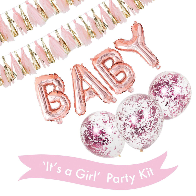 'It's a Girl' Party Kit