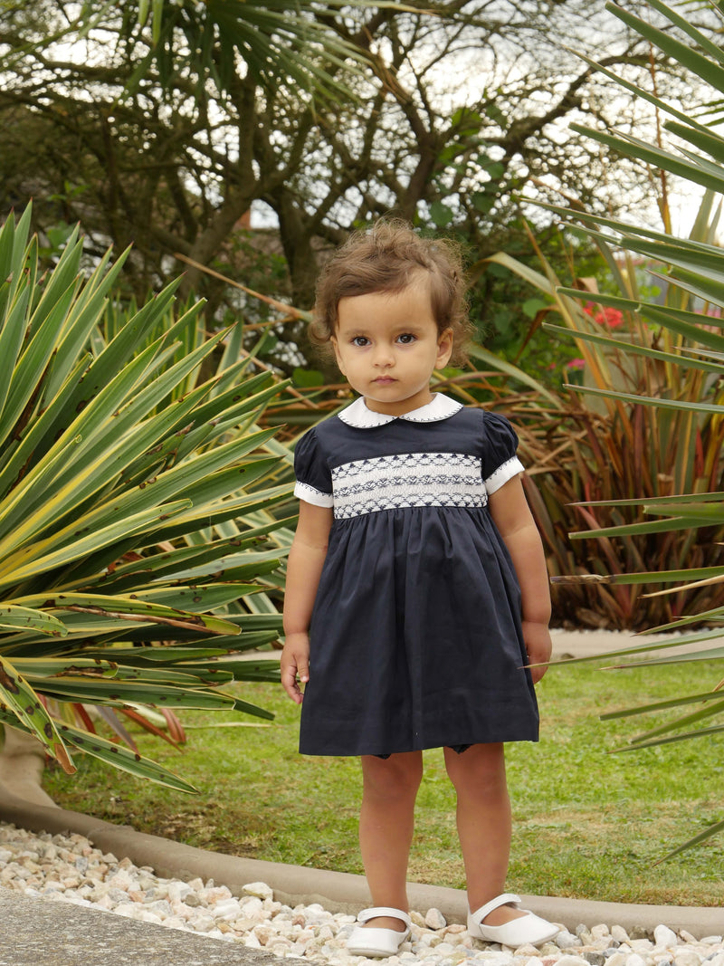 Classic Smocked Dress & Bloomers