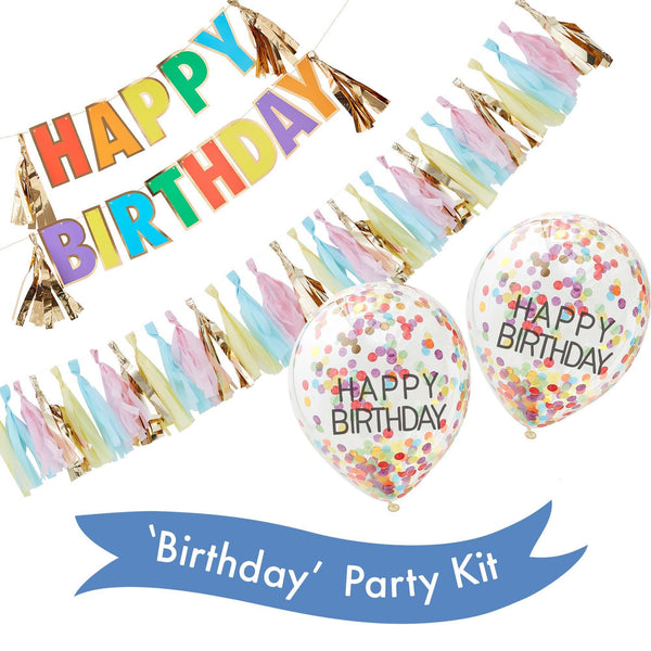 'Happy Birthday' Party Kit