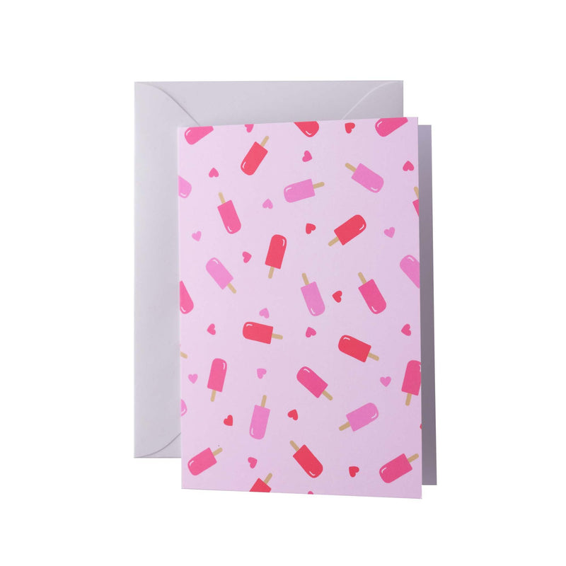 Ice Lolly Greeting Card