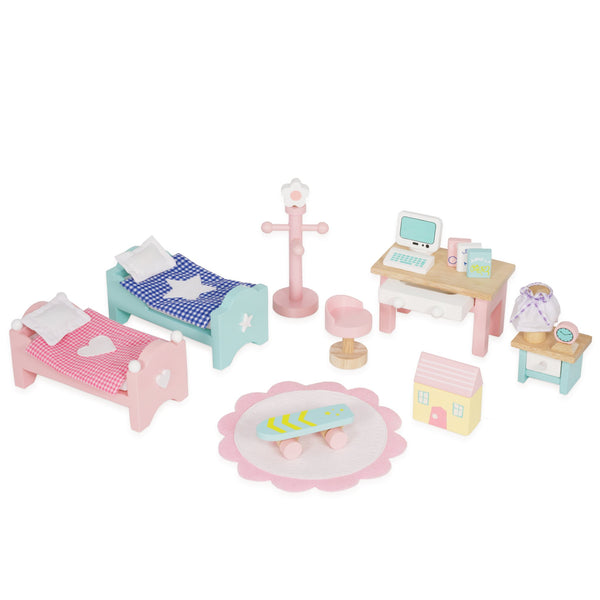 Daisylane Children's Bedroom Dollhouse Furniture