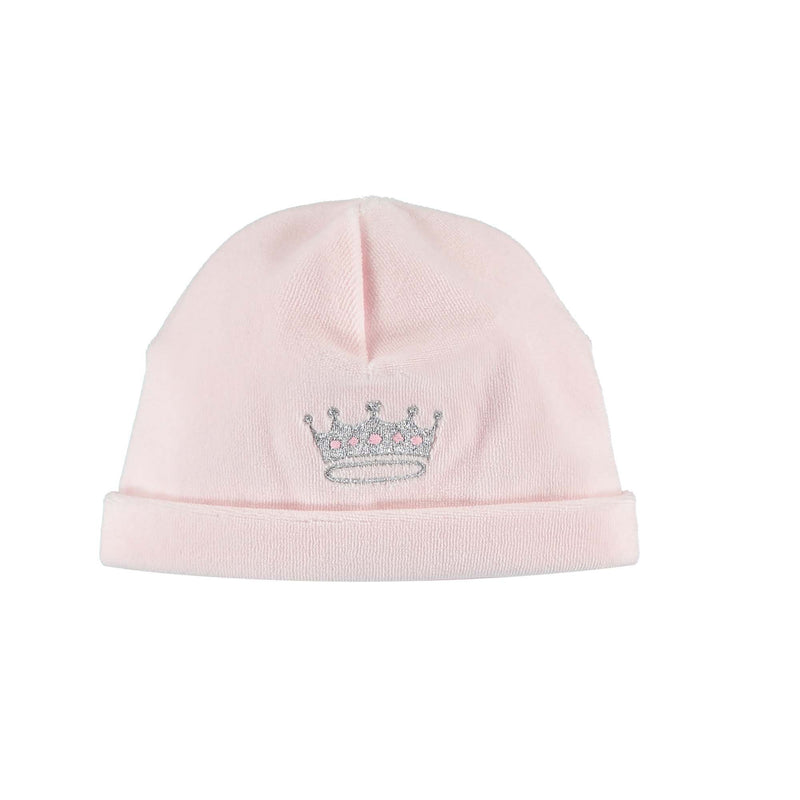 Princess Embroidered Velour Hat