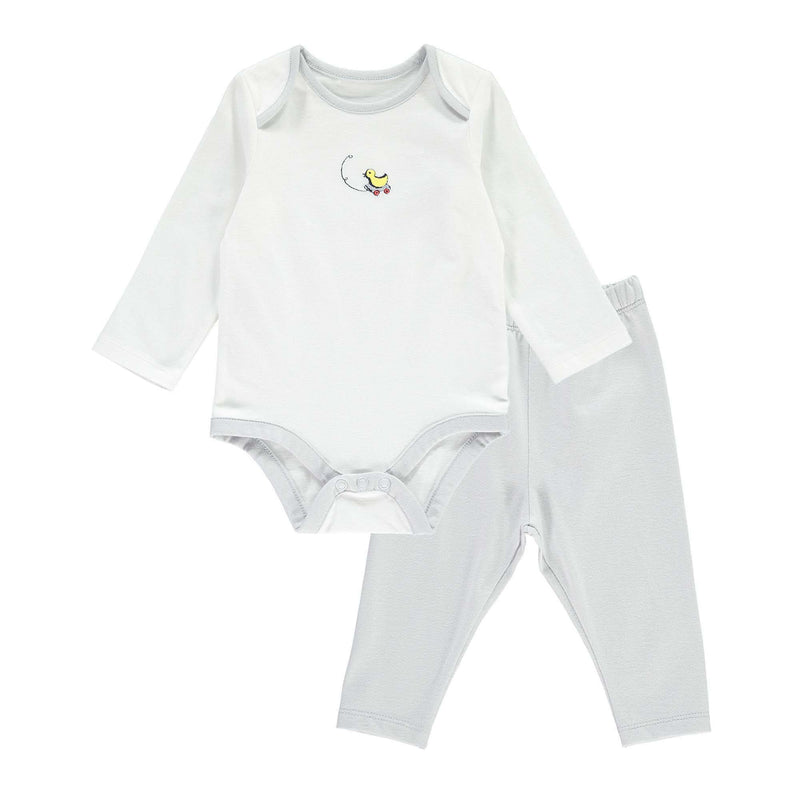 Toy Duck Motif Body & Legging Set