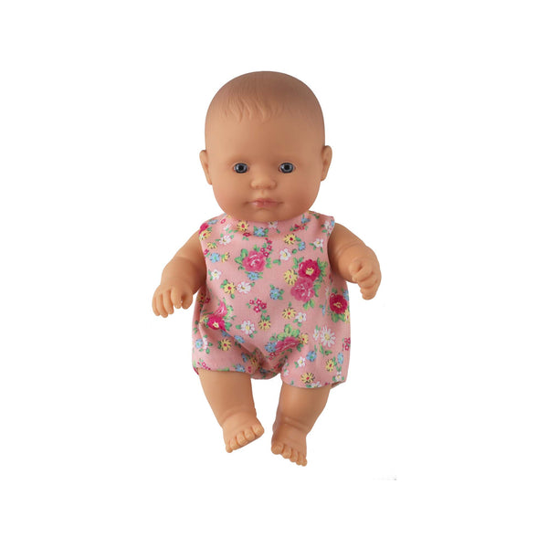 'Ruby' Baby Girl Doll & Floral Babysuit
