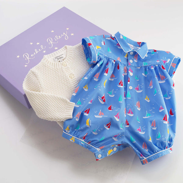 Sail Away Gift Box for Baby Boys