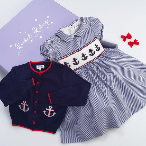 Anchors Away Gift Box for Girls