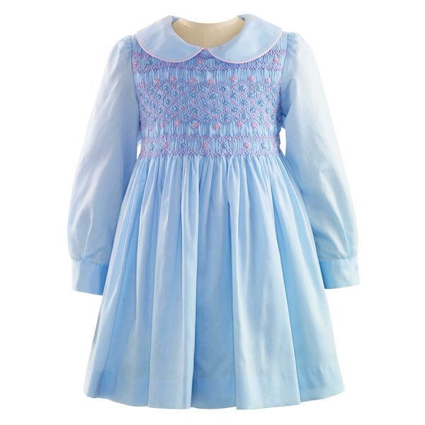 Flower Smocked Dress