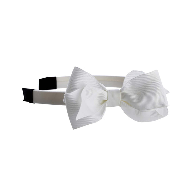 Ivory Bow Hairband