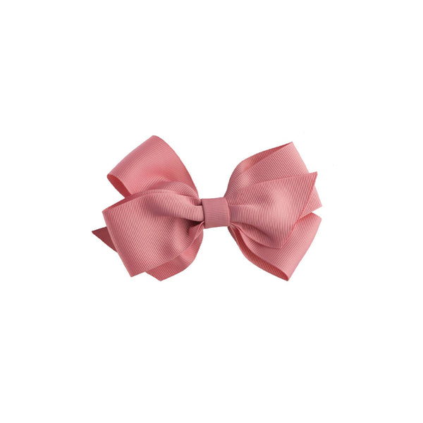 Pink Grosgrain Ribbon Hairbow
