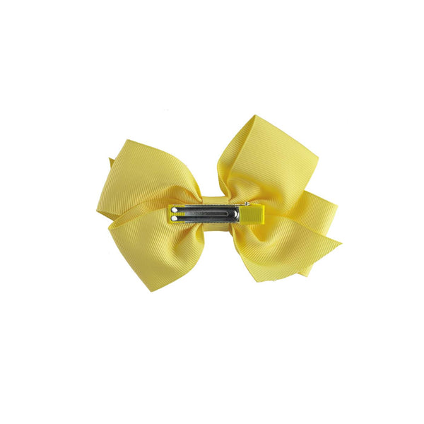 Yellow Grosgrain Ribbon Hairbow