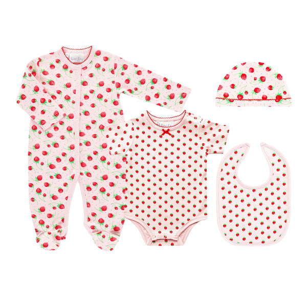 Strawberry Welcome Baby Set