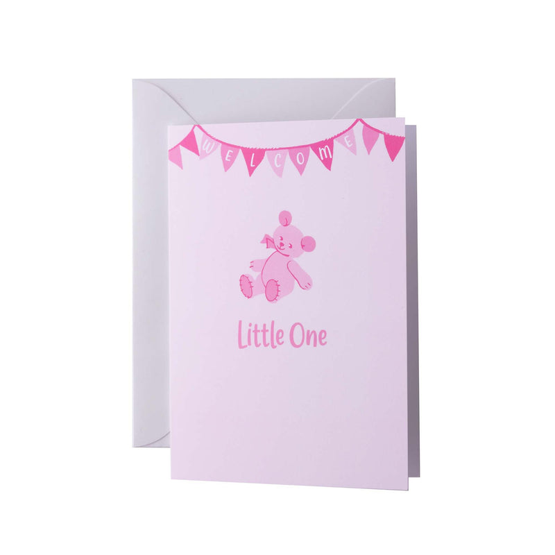 Little One Pink Greeting Card