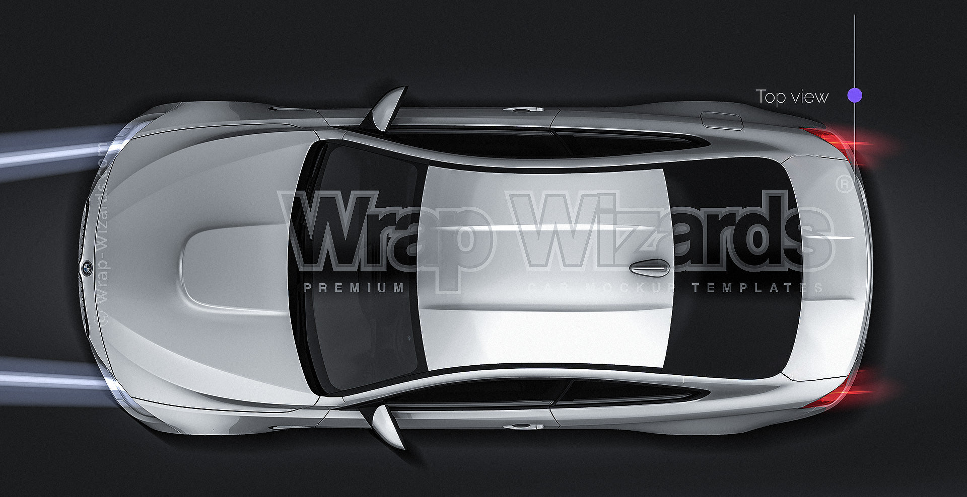 BMW F82 M4 Coupe all sides Mockup Template.psd