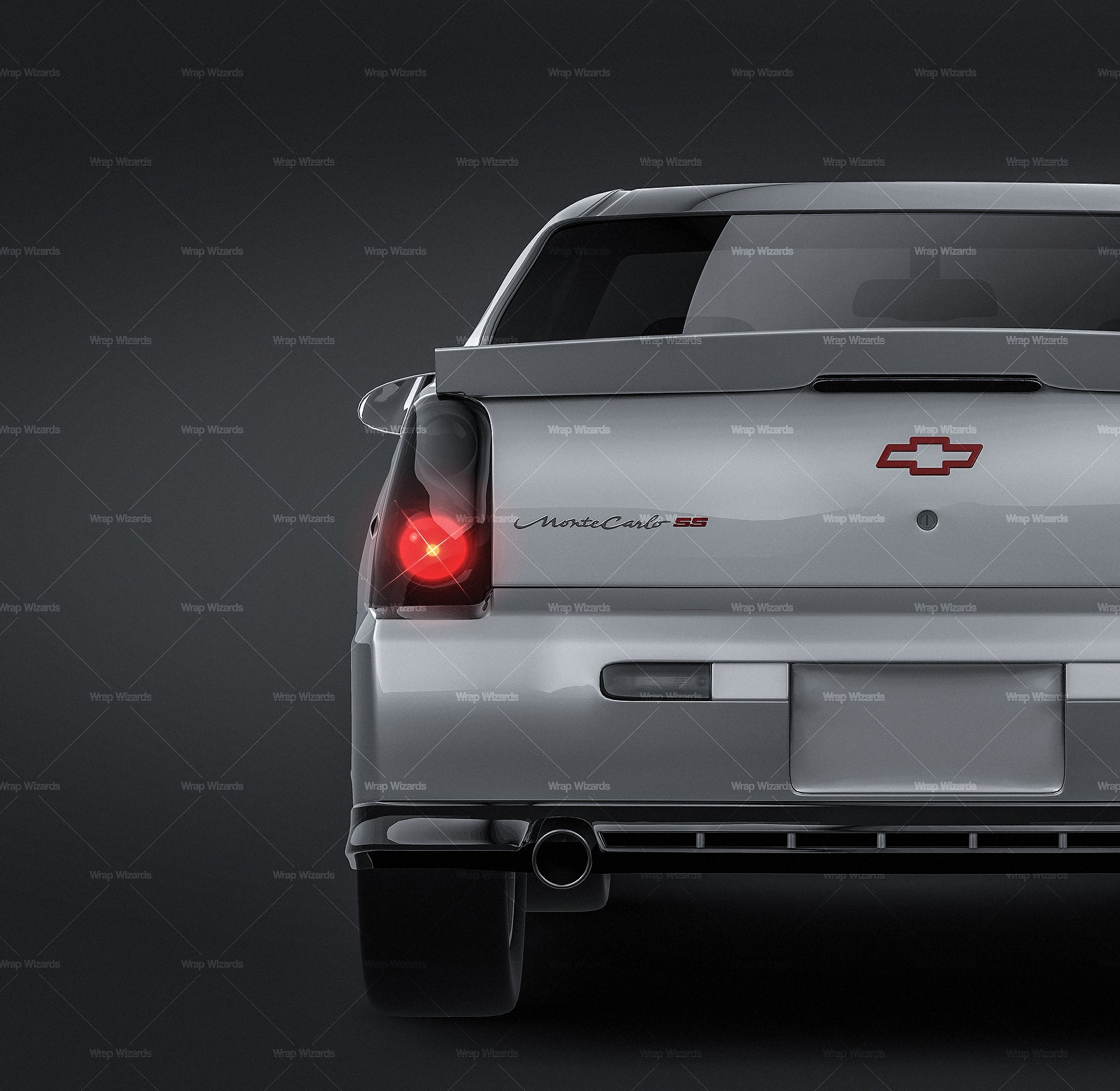 Chevrolet Monte Carlo 2004 all sides Car Mockup Template.psd