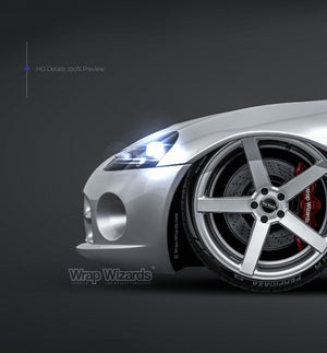 Dodge Viper SRT10 2010 glossy finish - all sides Car Mockup Template.psd