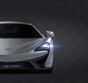 McLaren 570 S all sides Car Mockup Template.psd