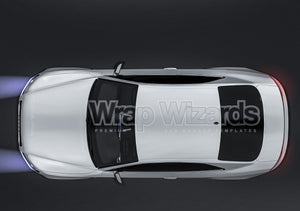 Audi RS5 2011 Coupe all sides Car Mockup Template.psd