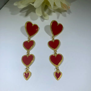 "The ""Heart of Gold"" earrings"