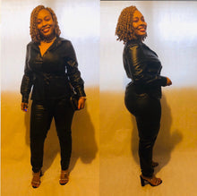 "Load image into Gallery viewer, THE ""BOSSY BLACK"" 2 pc set"