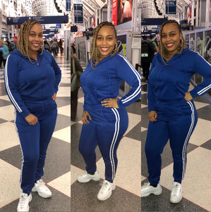 "The ""TRUE BLUE"" Tracksuit 💙💙"