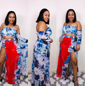 "The ""Flower Bomb"" 2 pc set"
