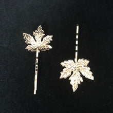 Load image into Gallery viewer, LITTLE LEAF HAIR PIN(2 PACK)