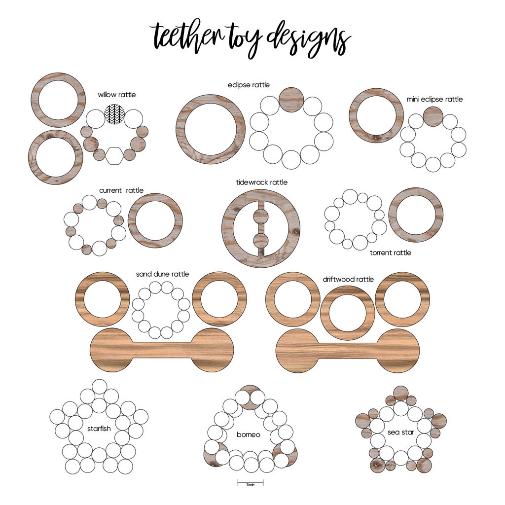 teether toy designs