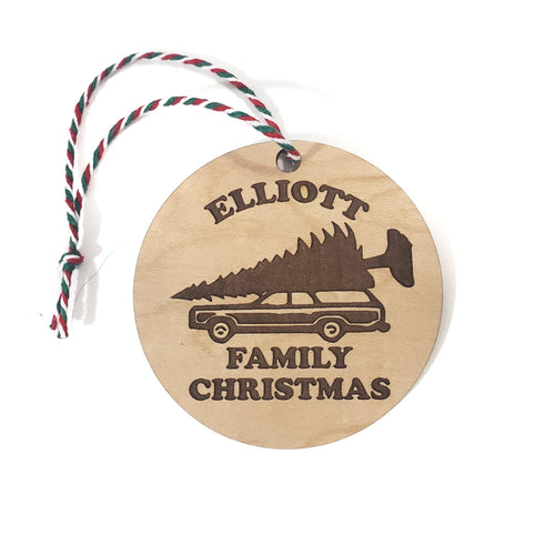 GRISWOLD FAMILY CHRISTMAS ornament