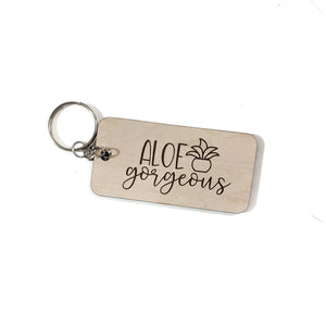 ALOE GORGEOUS key chain