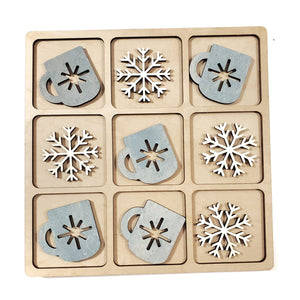 LET IT SNOW tic tac toe