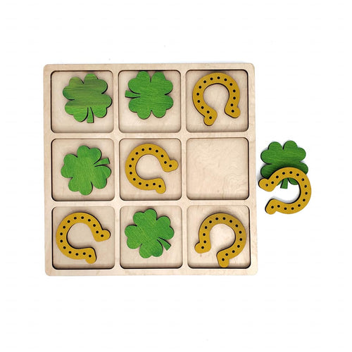 LUCKY CHARMS tic tac toe