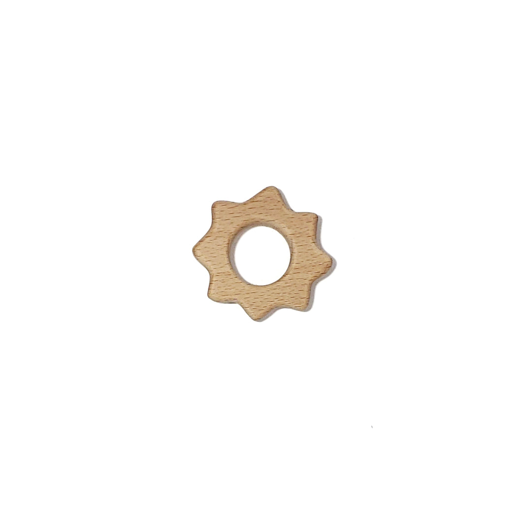 wooden sun teether