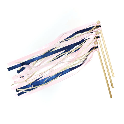 ONE OF A KIND ribbon wand