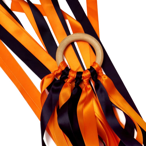 ORANGE + BLACK hand kite