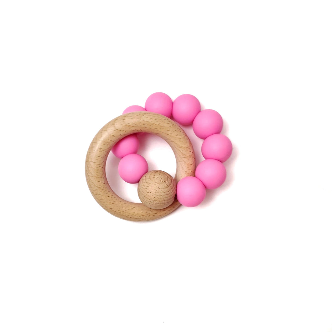 PINK eclipse rattle