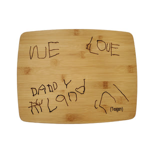 CUSTOM engraved cutting board [DEPOSIT]
